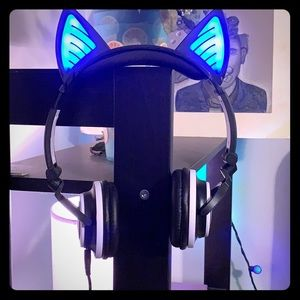 Accessories - LIGHT UP CAT EAR HEADPHONES
